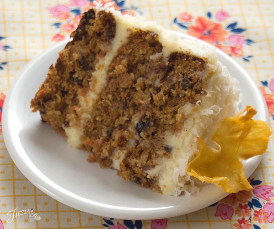 Fiesta Carrot Cake Slice