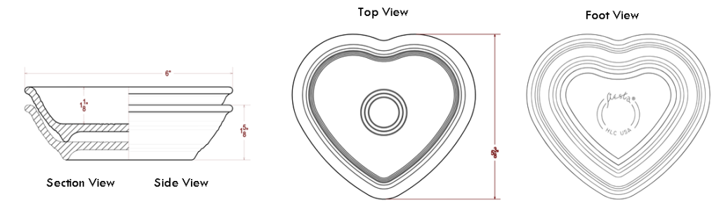 Heart Bowl Blueprint