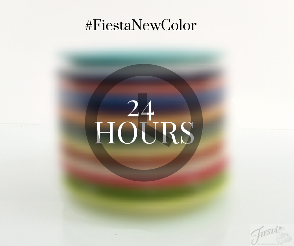 24 hours till Fiesta New Color Announce!
