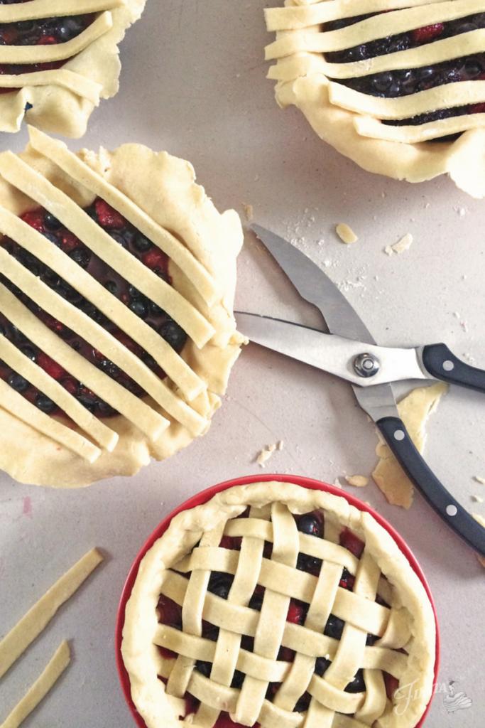 Assembling Fiesta Pie