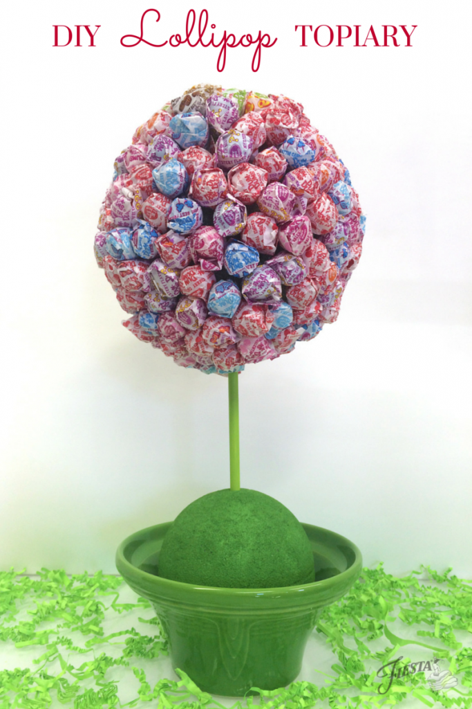Fiesta Lollipop Topiary