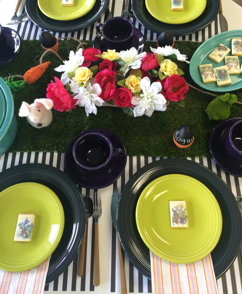 Setting the Easter Table