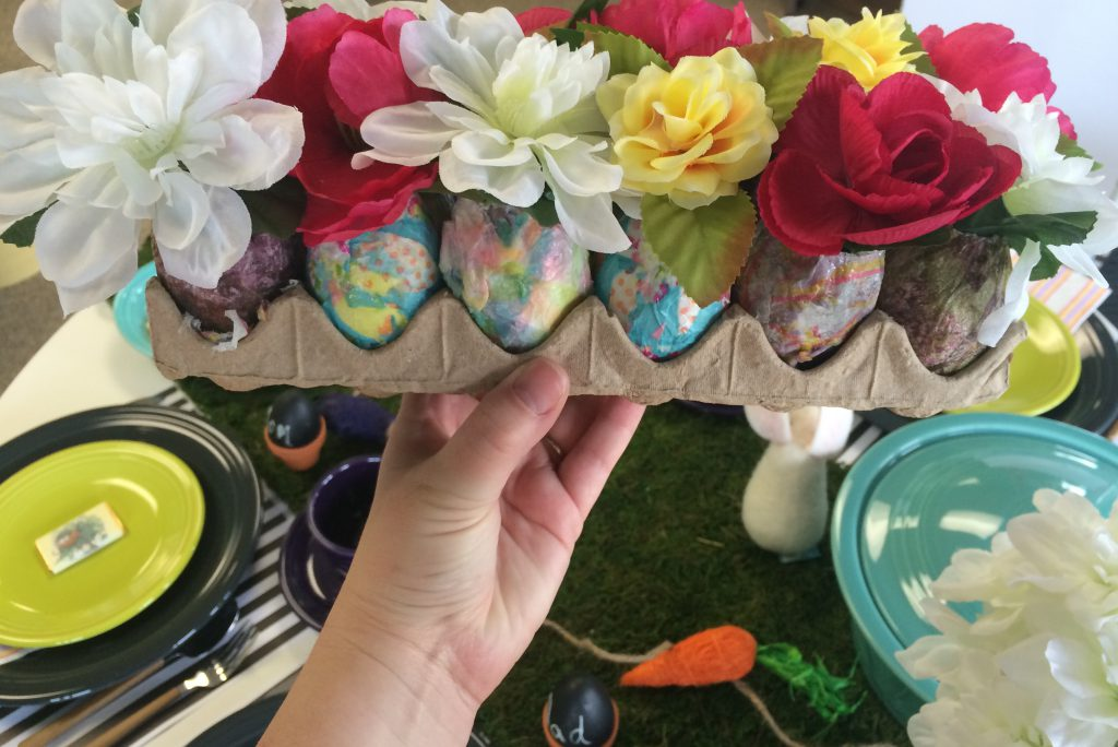 Easter tablescape DIYS from Fiesta Dinnerware