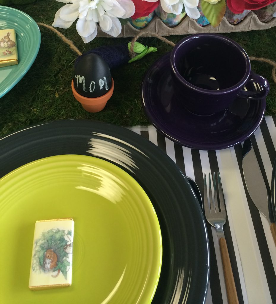 Easter egg DIYs from Fiesta Dinnerware