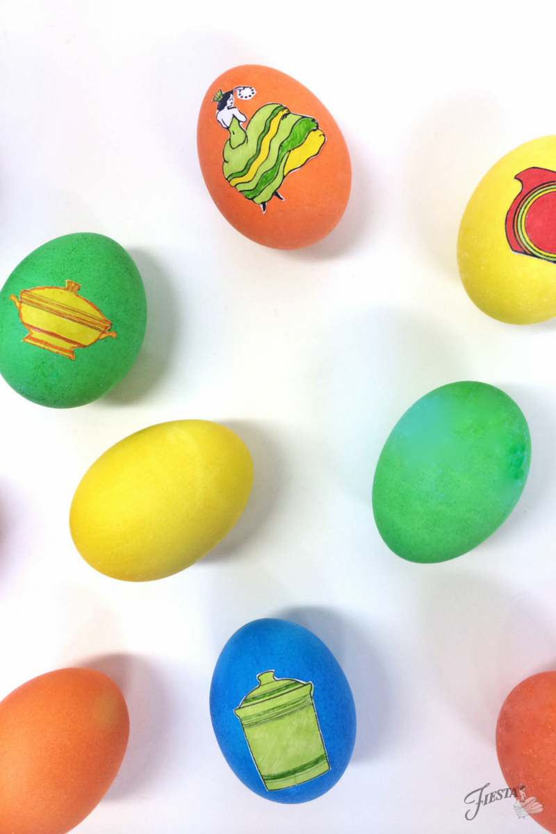 Fiesta Easter Eggs v