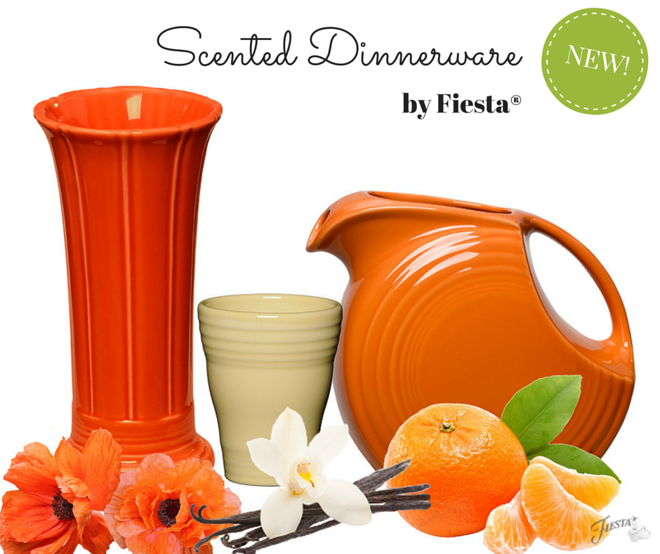 Scented Dinnerware by Fiesta