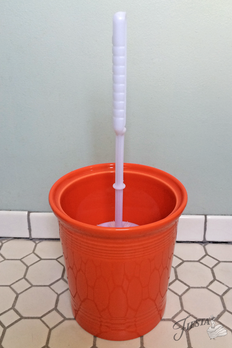 Fiesta Brush Holder