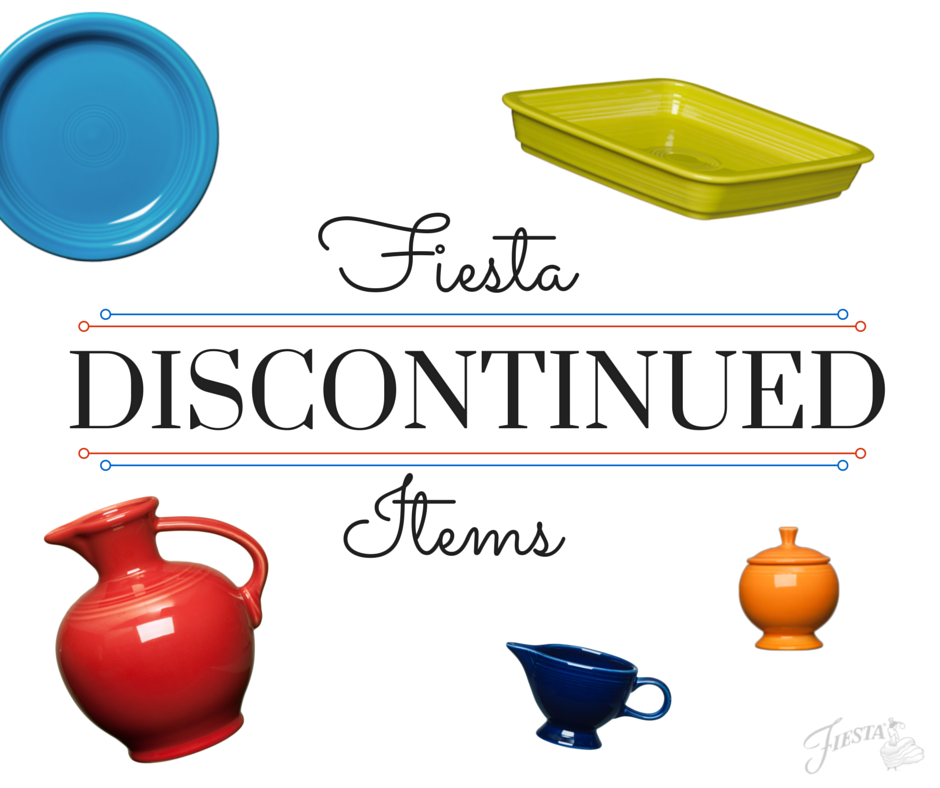 FiestaDiscontinued List
