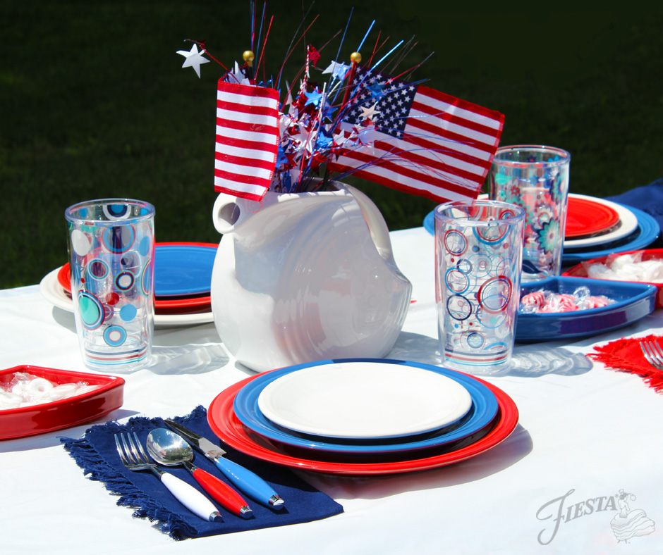 Fiesta 4th of July Spread
