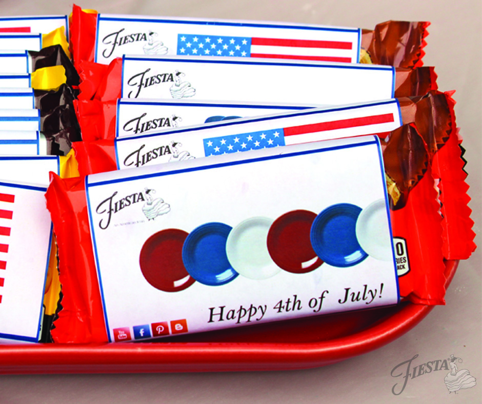 July 4th Candy Bars