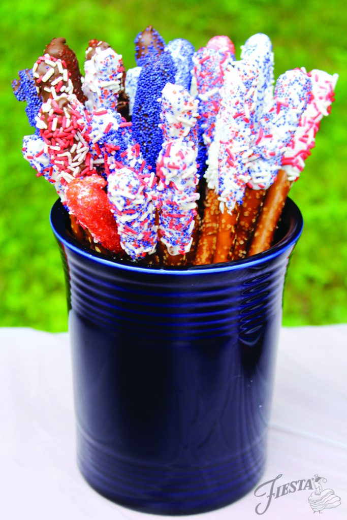 July 4th Pretzels