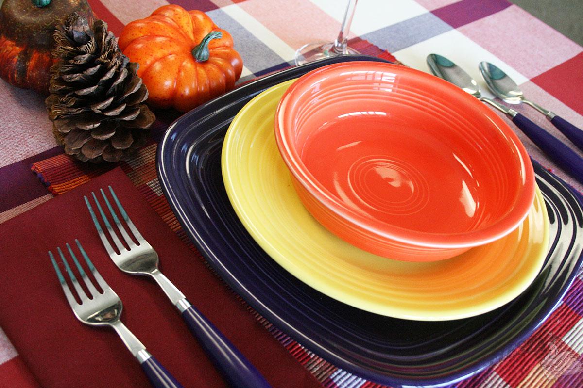 pumpkin1 - Fiesta Plates