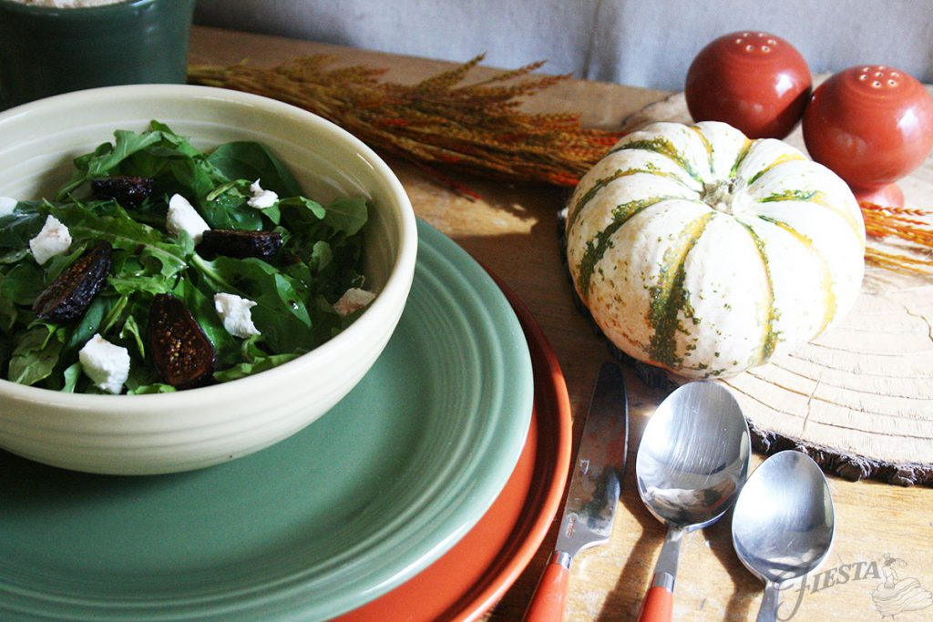 Fig-and-Goat-Cheese-Salad-in-Ivory-Bistro-Bowl