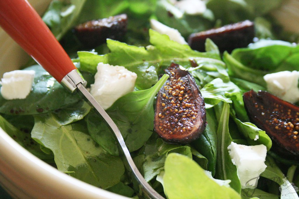 Goat-Cheese-and-Fig-Salad