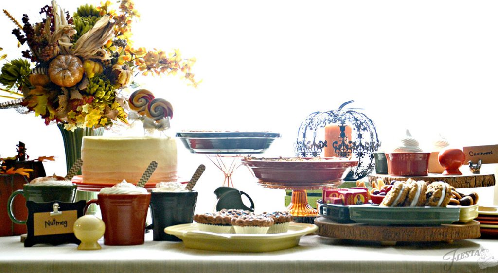 Thanksgiving-Tablescape-with-Fiesta-Dinnerware