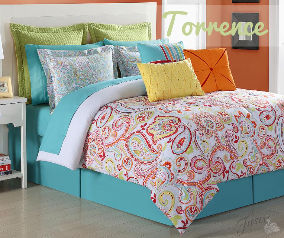 Fiesta Comforter Set - Torrence www.alwaysfestive.com