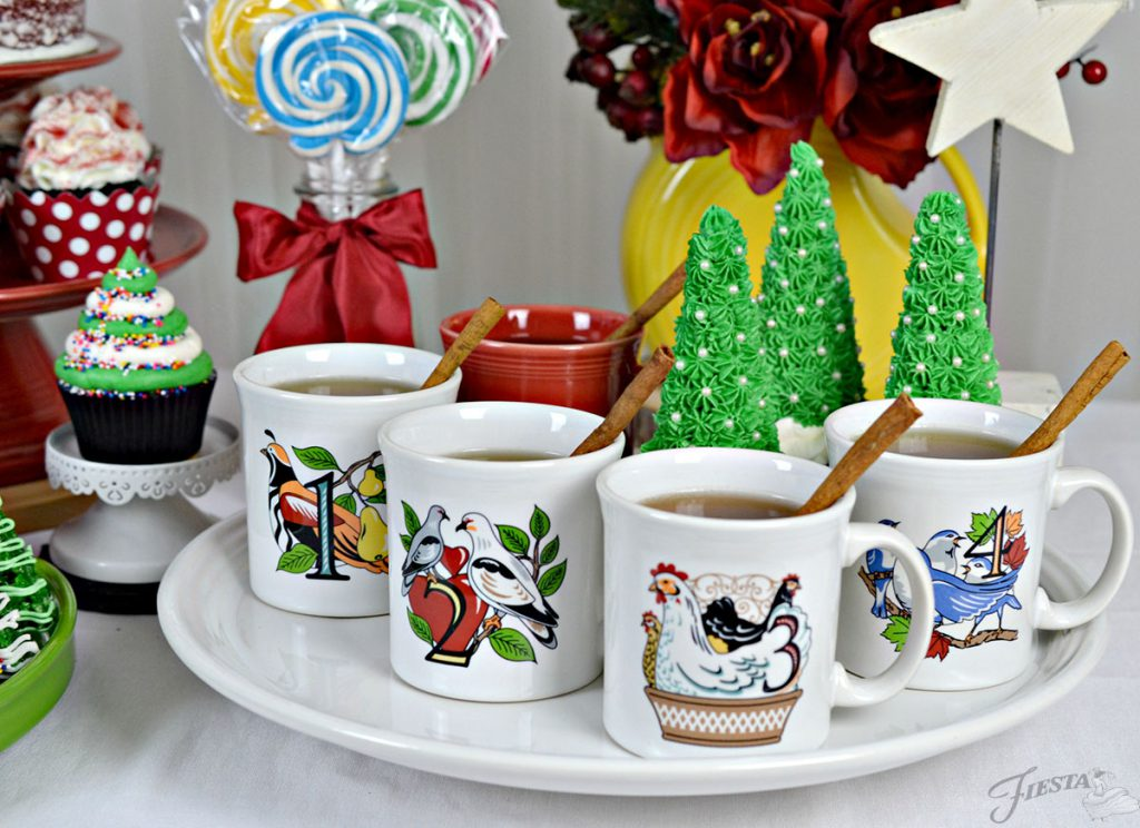 12 Days of Christmas Mug Set