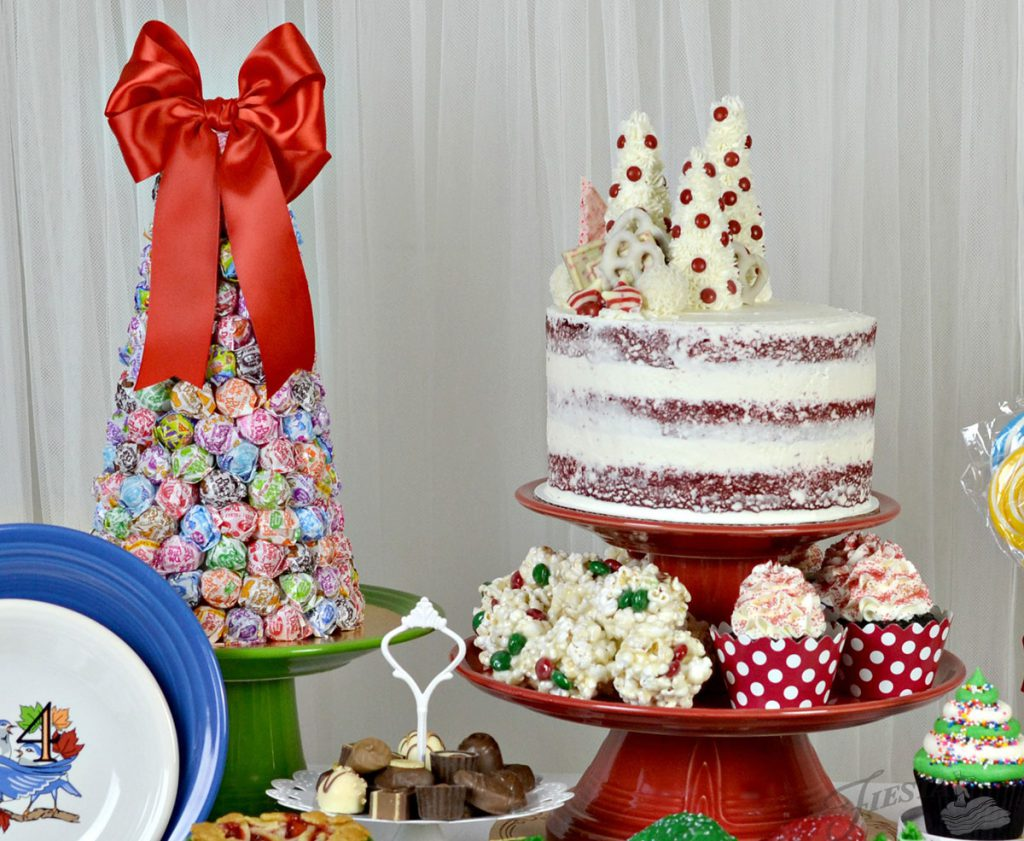 A Christmas Dessert Table