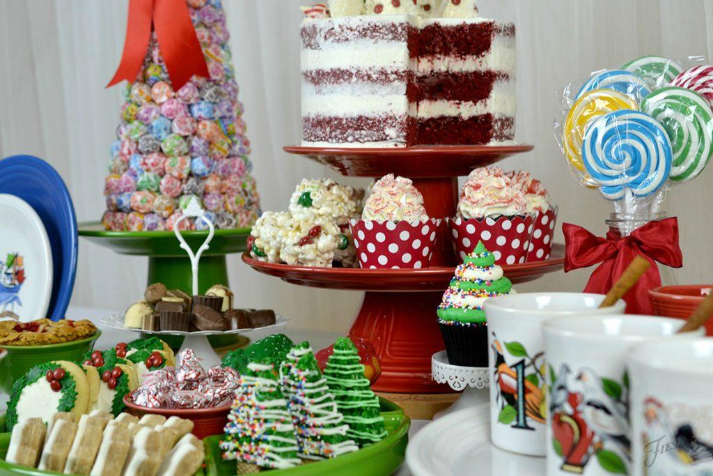 DIY Fiesta Tiered Cake Stand