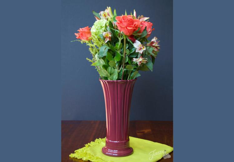 Claret Vase Fiesta Blog