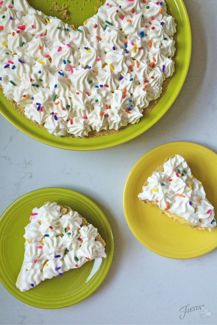 Confetti Cream Pie Full Slice x2