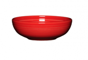 Fiesta Dinnerware Scarlet Medium Bistro Bowl - one of the perfect pieces for someone's first house or apartment. For more starter dinnerware ideas, visit the Fiesta blog at www.alwaysfestive.com.