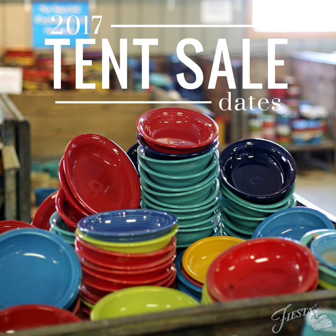 get your planners out because you wonu0027t want to miss these events below are the dates for our outdoor tent sales - Fiestaware Sale
