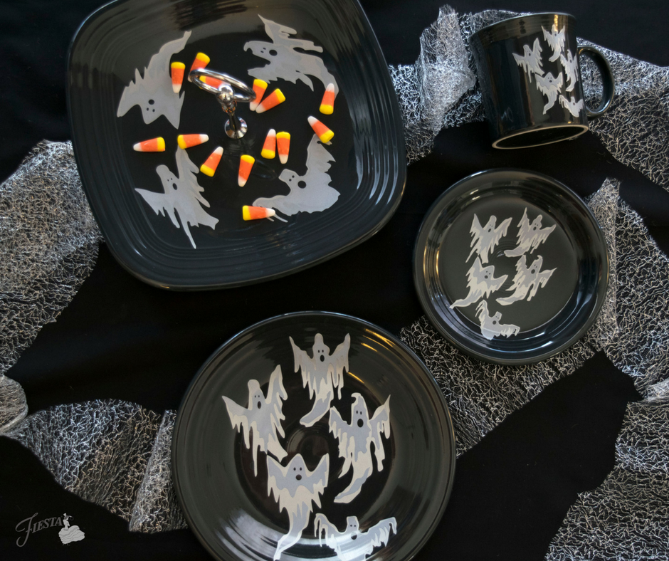 Trio of Skeletons design from Fiesta Dinnerware | www.fiestafactorydirect.com