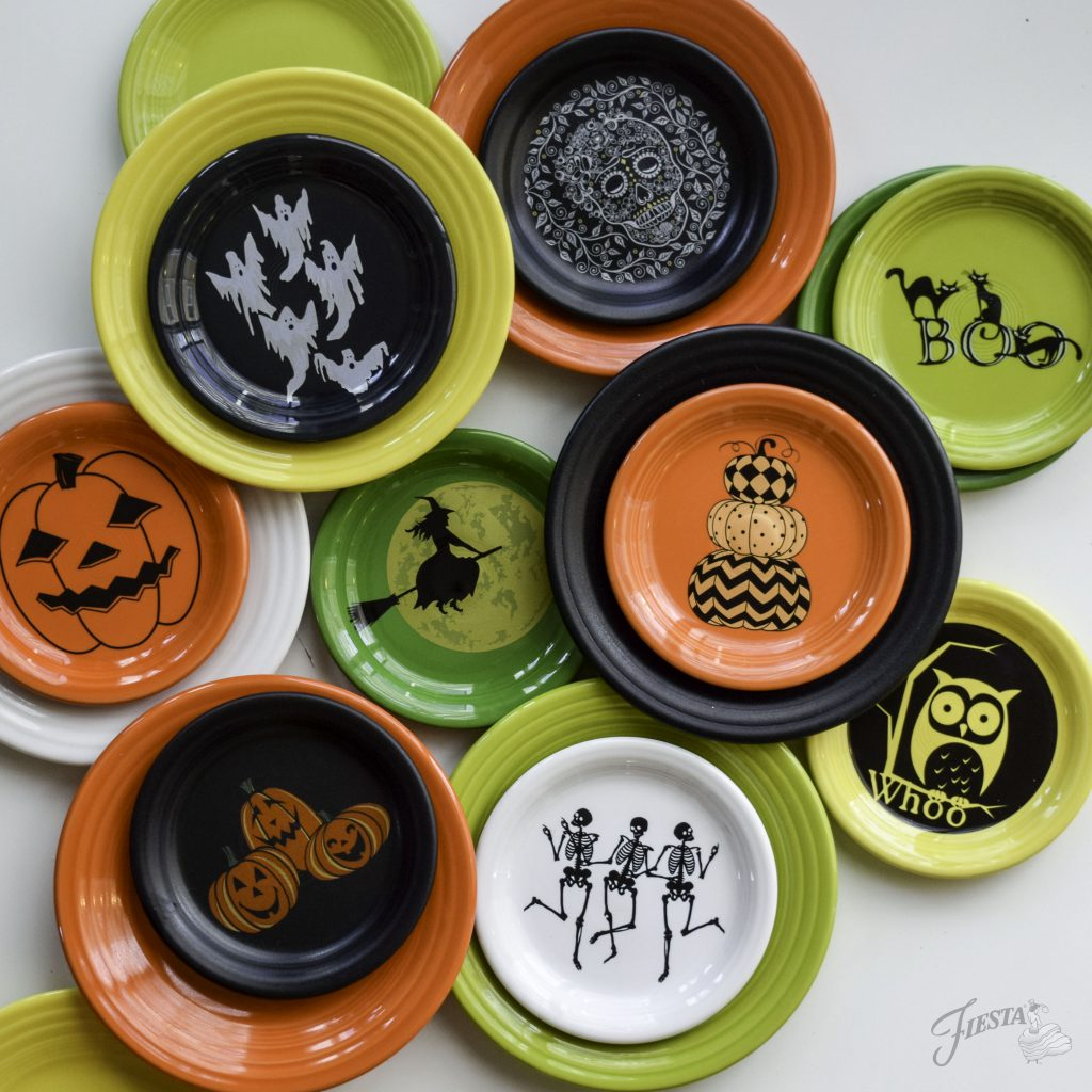 Fiesta Dinnerware's 2017 Halloween collection. Select new pieces available beginning June 2017. | www.alwaysfestive.com