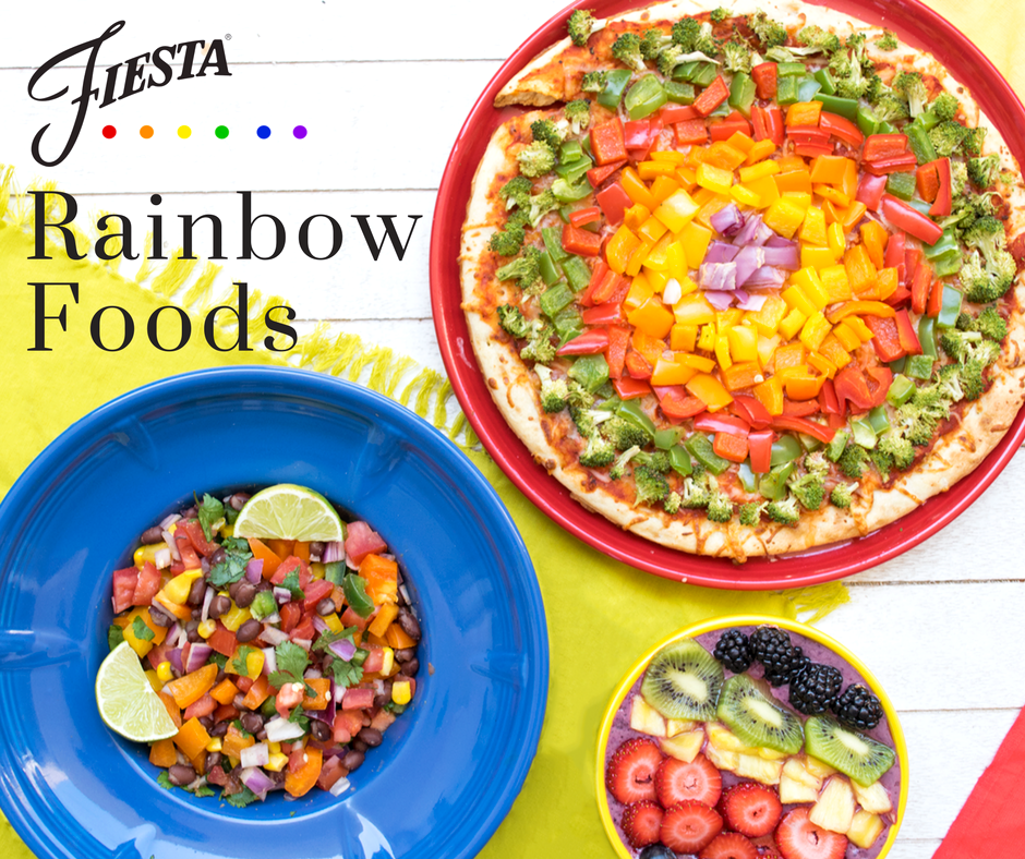 as youu0027ve probably already guessed we love color here at fiesta dinnerware so it only makes sense that after weu0027ve set our table with our rainbow of - Fiesta Plates