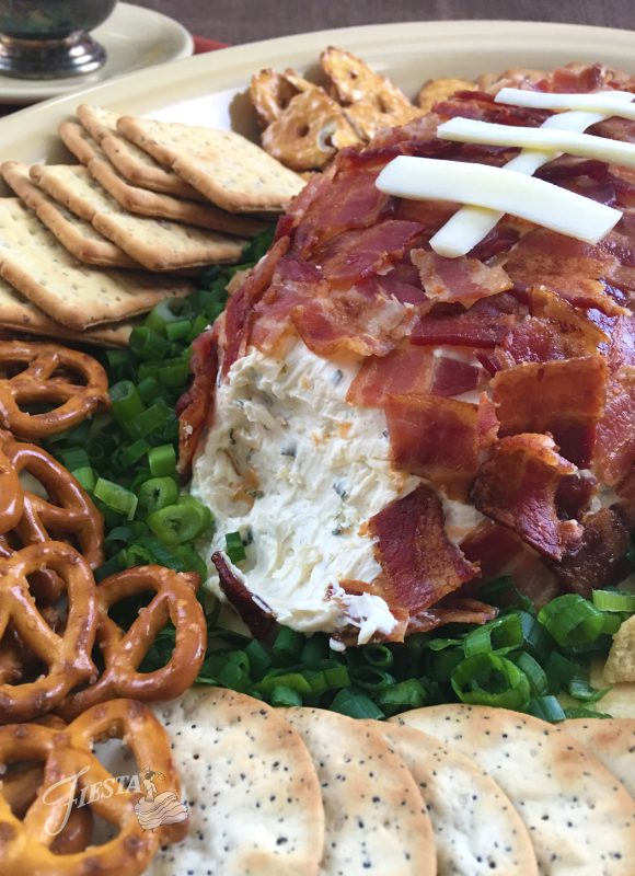 fiesta dinnerware xl turkey platter football cheese ball recipe
