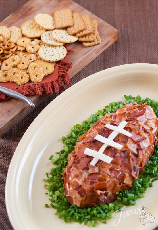 fiesta dinnerware xl turkey platter football cheese ball recipe