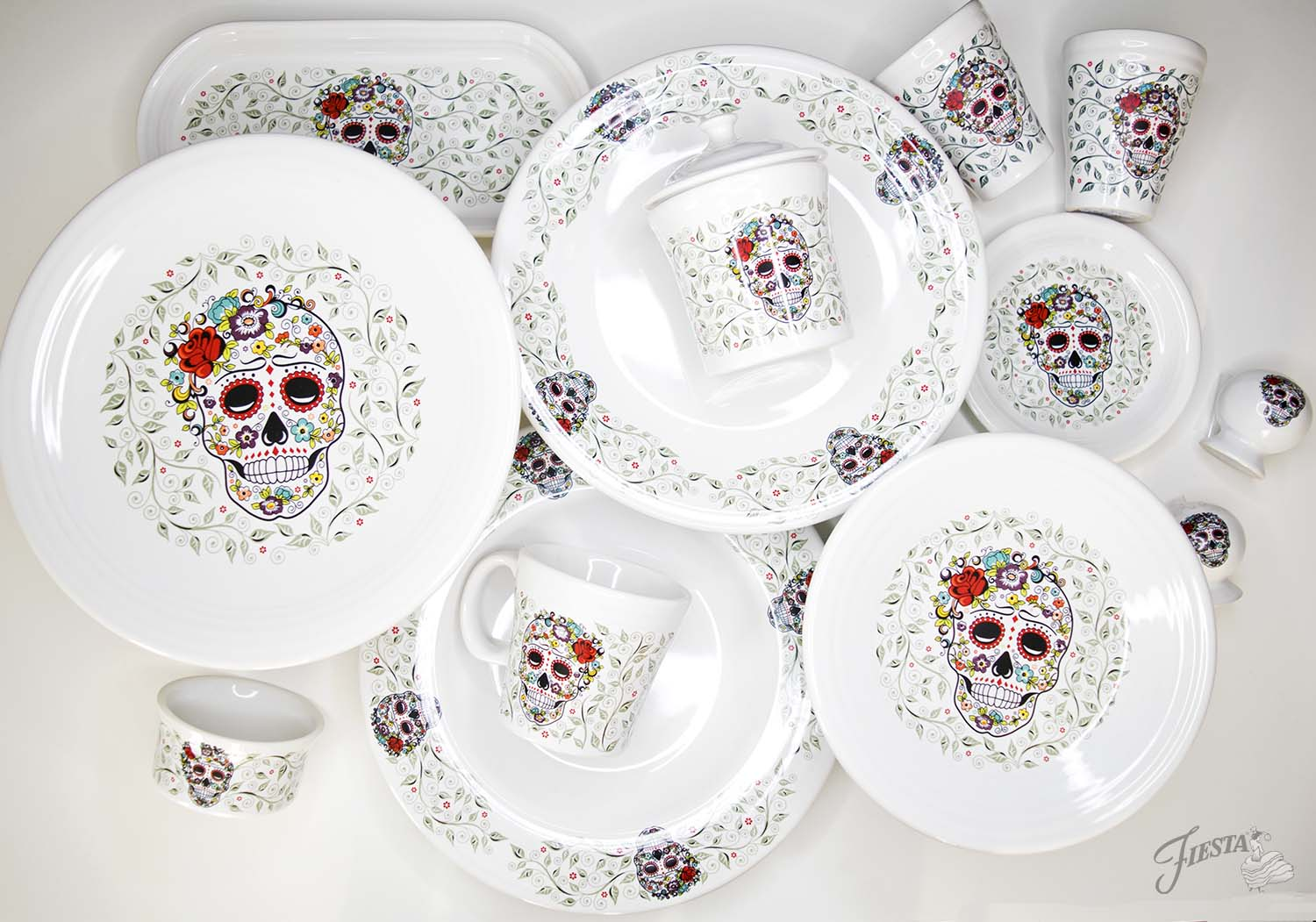 sc 1 st  Fiesta Blog - Fiestaware : day of the dead dinnerware - pezcame.com