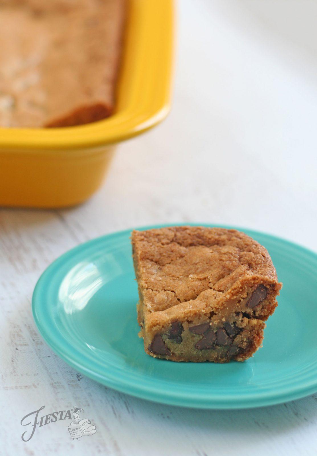 fiesta dinnerware baker cookie bars