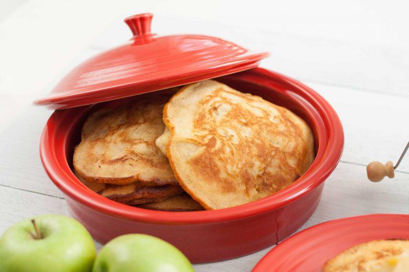 fiesta scarlet 326 tortilla warmer 1488 apple fall pancakes