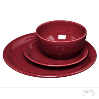 Fiesta Dinnerware 2016 New Color Claret In The 3 Pc Bistro Set